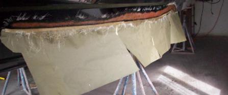 boat fiberglass repairs, marine fiberglass repairs, boat fiberglass services