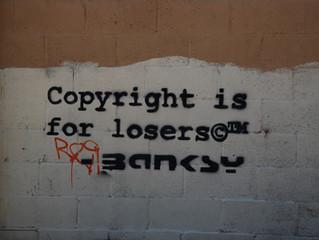 """""""Bansky komt toch op voor zijn auteursrecht"""""""