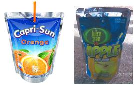 Is dit Capri-Sun zakje een geldig merk?