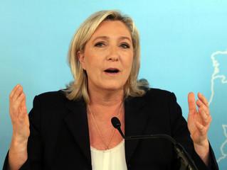 Marine Le Pen beschuldigd van plagiaat