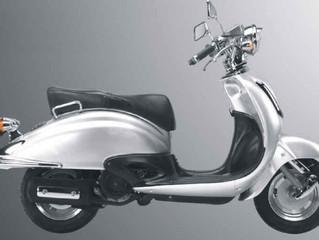 Is het modelrecht op deze scooter geldig?