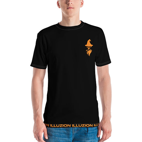 Strips Unisex T-shirt (Black)