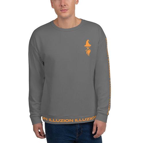 Strips Unisex Sweatshirt (Gray)