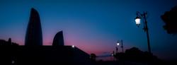 Закат над Баку