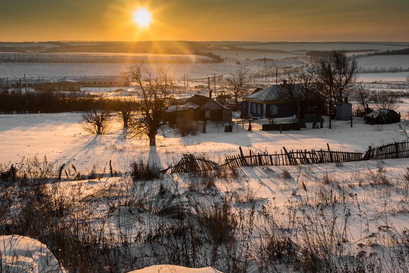 Воронежская область. Морозы!