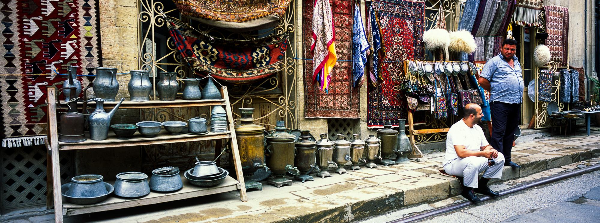 Улочки старого Баку