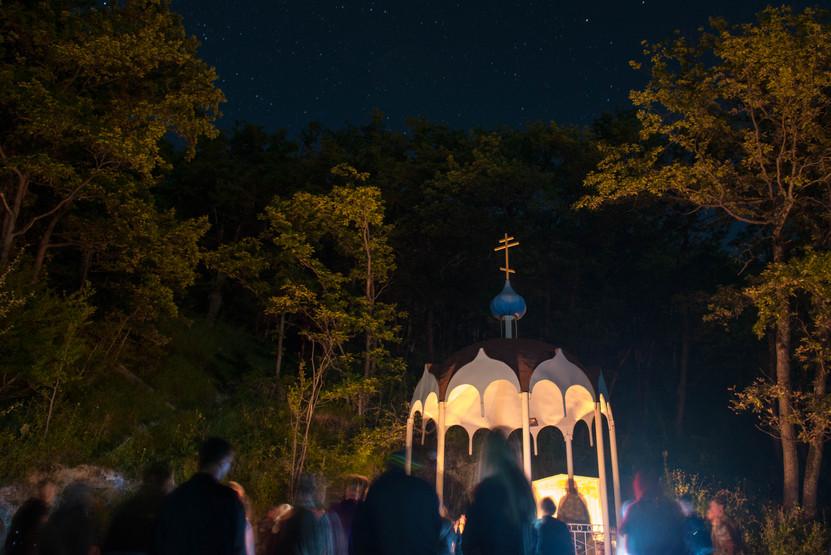 Ночь пророка Илии в горах