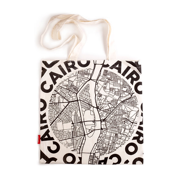 Downtown Cairo MapTote
