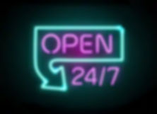 Open 24/7 coso Sitges