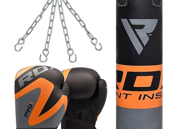 RDX F12 Punch Bag & Bag Gloves