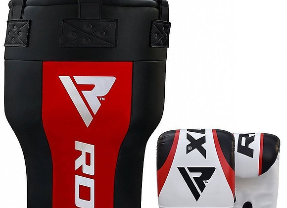 RDX AR Angle Punch Bag with Gloves
