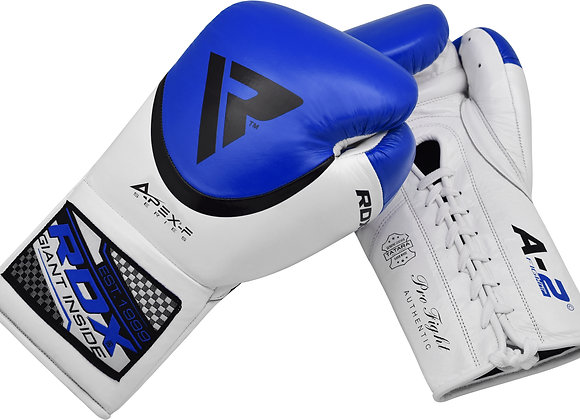RDX A2 BBBofC Approved Pro Fight Boxing Gloves