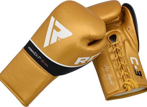 RDX C3 BBBofC Approved Pro Fight Boxing Gloves