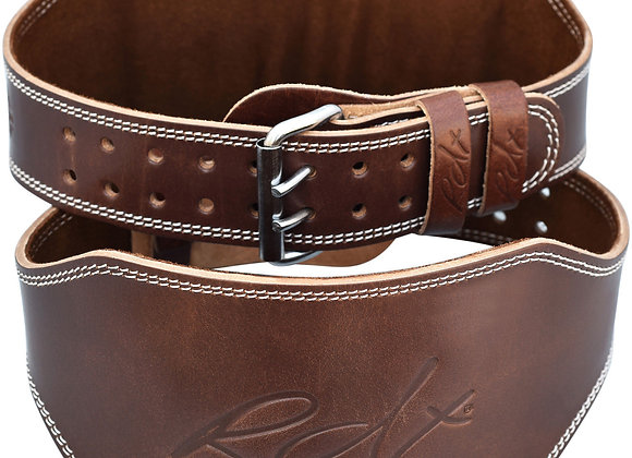 BELT LEATHER 6'' BROWN PADDED