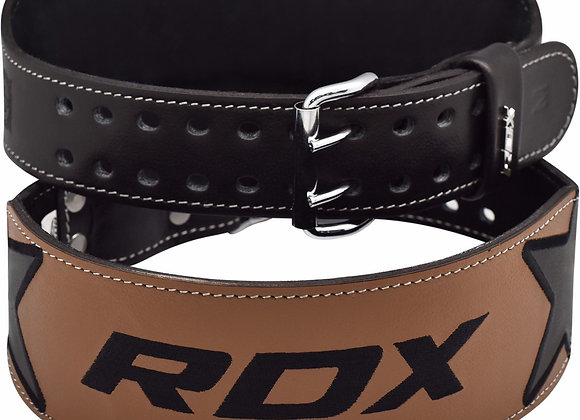 "BELT 4"" EMBROIDERY BLACK"