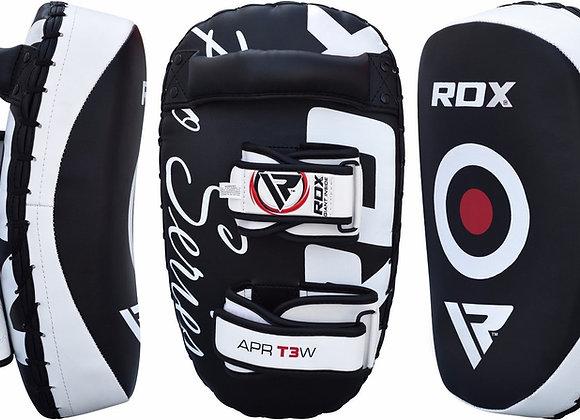 RDX T3 Curved Gel Padded Muay Thai Kick Pads
