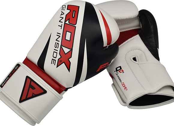 RDX F10 Training Boxing Gloves White