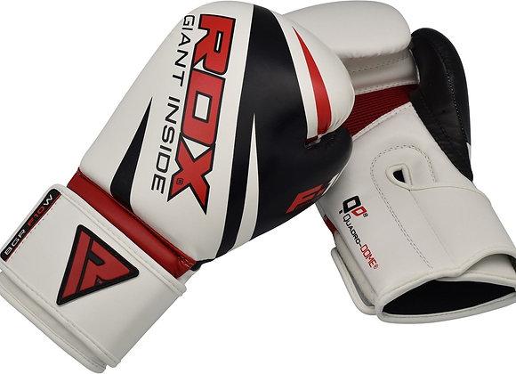 RDX F10 Training Boxing Gloves White