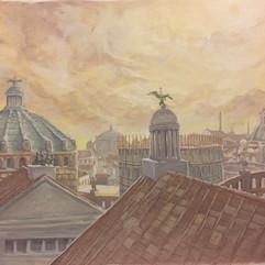 Die Sonne über Rom