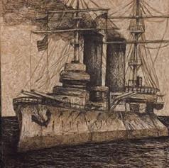 Russisches Schlachtschiff
