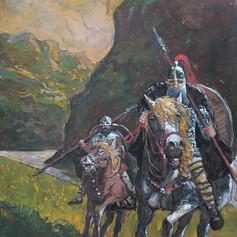 Reiter am Fjord