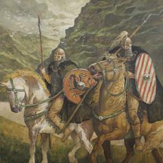 Krieger am Fjord