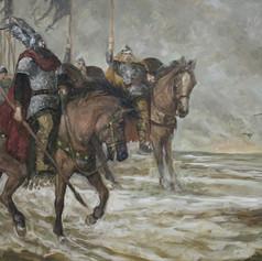 Auf dem Weg zu König Etzel
