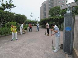 林原の清掃.JPG