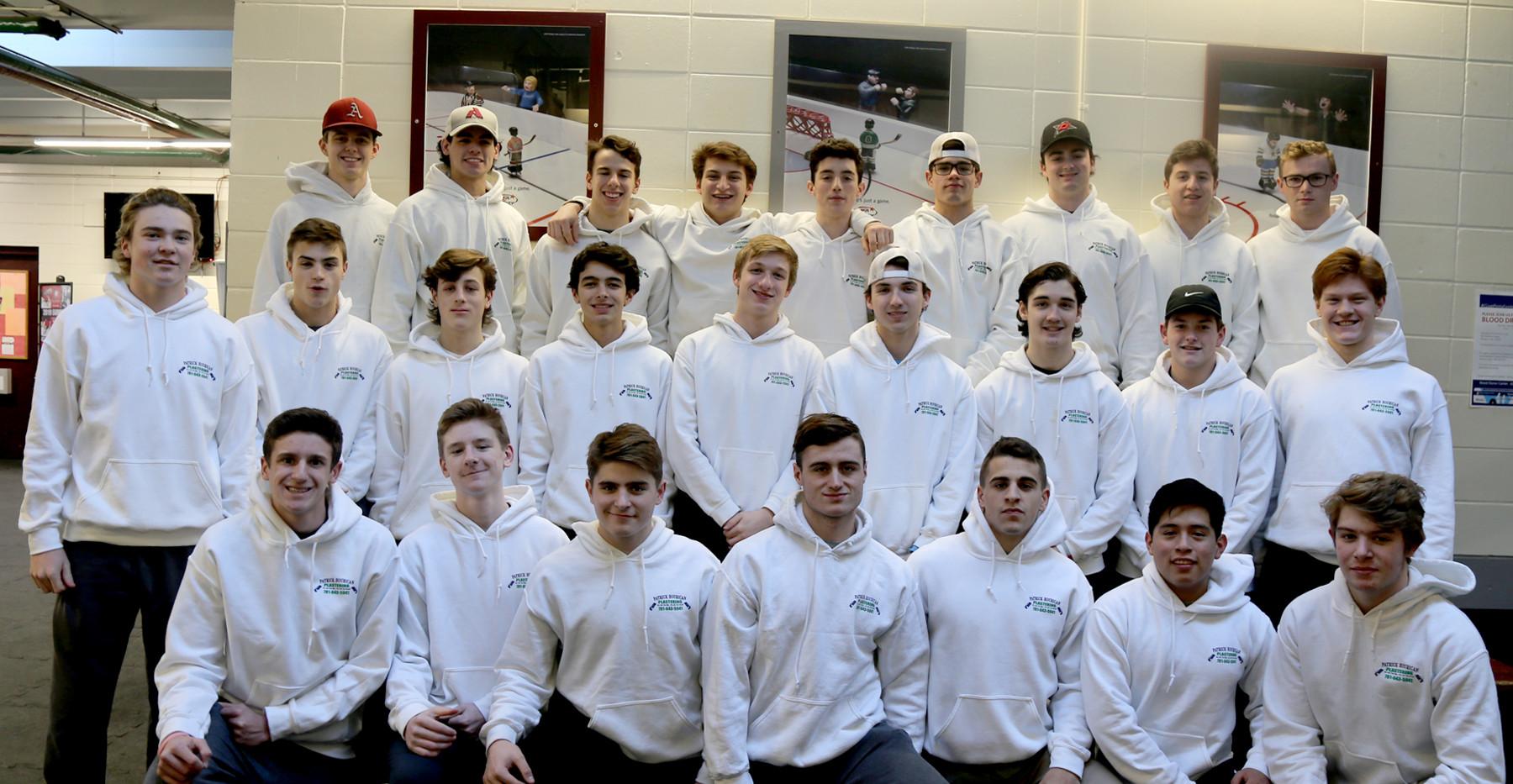 2018-2019 Arlington High Hockey Team