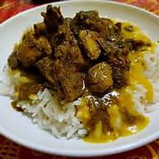 Curry Chicken Dinner