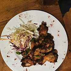 1/4 Jerk Chicken Dinner