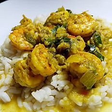Curry Shrimp Dinner