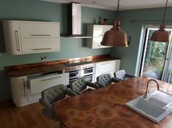Custom copper kitchen transformation