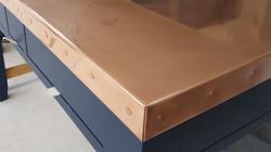 Copper worktops