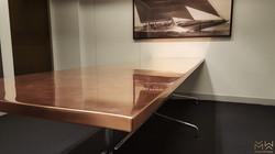 Copper table