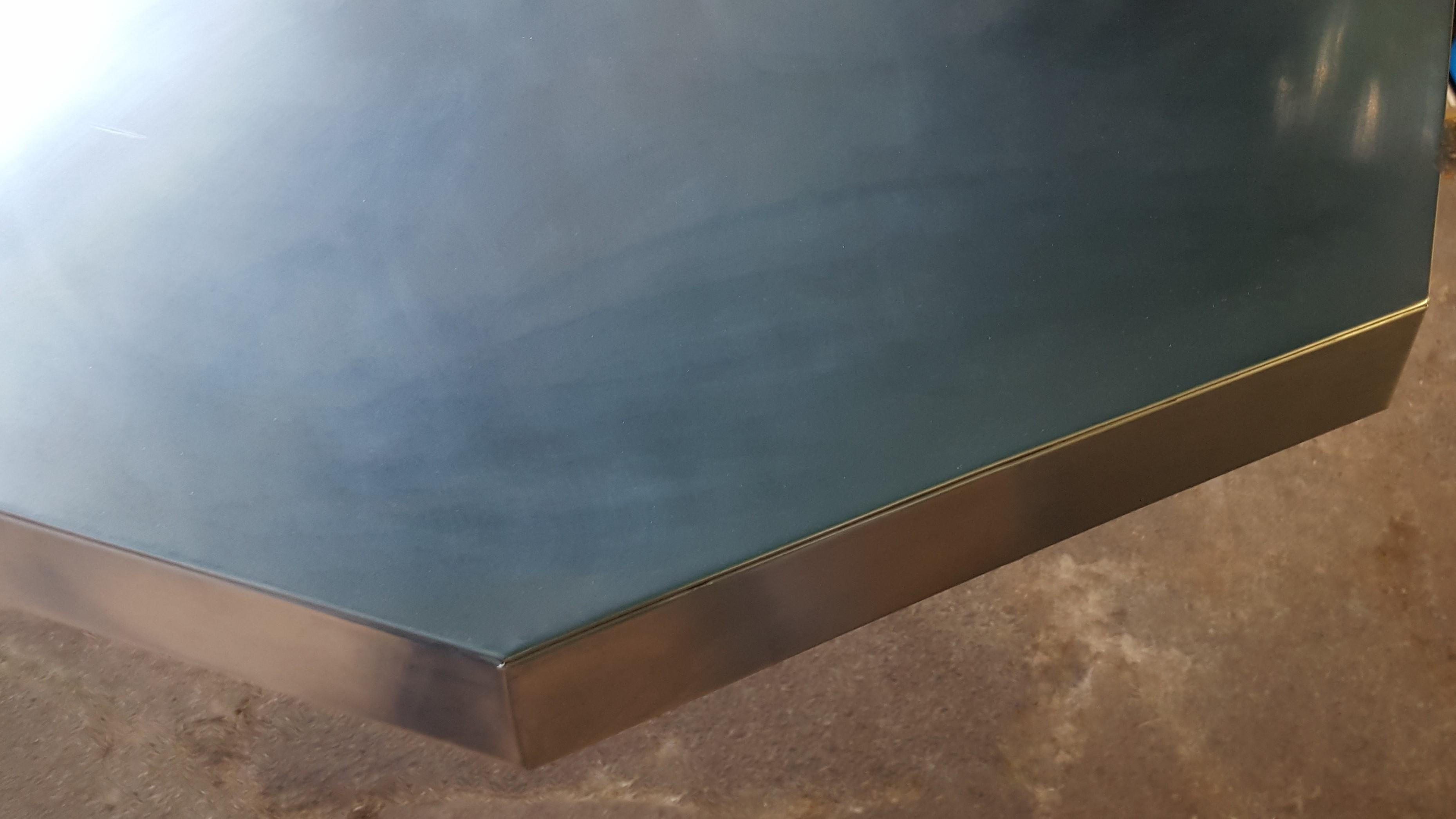 Zinc worktop
