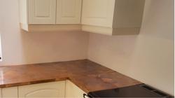 Copper worktops, counter top