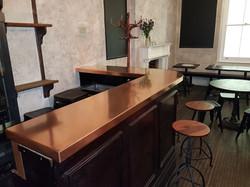 Copper bar in London City