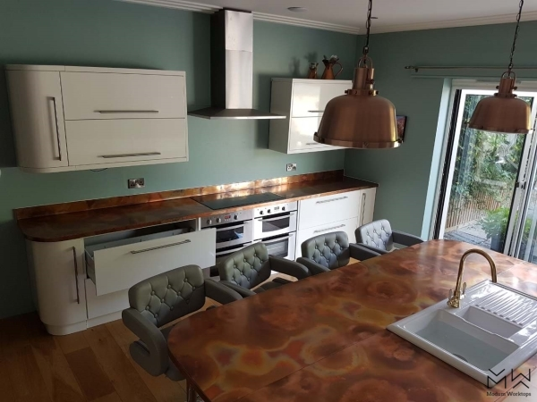 Optimized aged kitchen