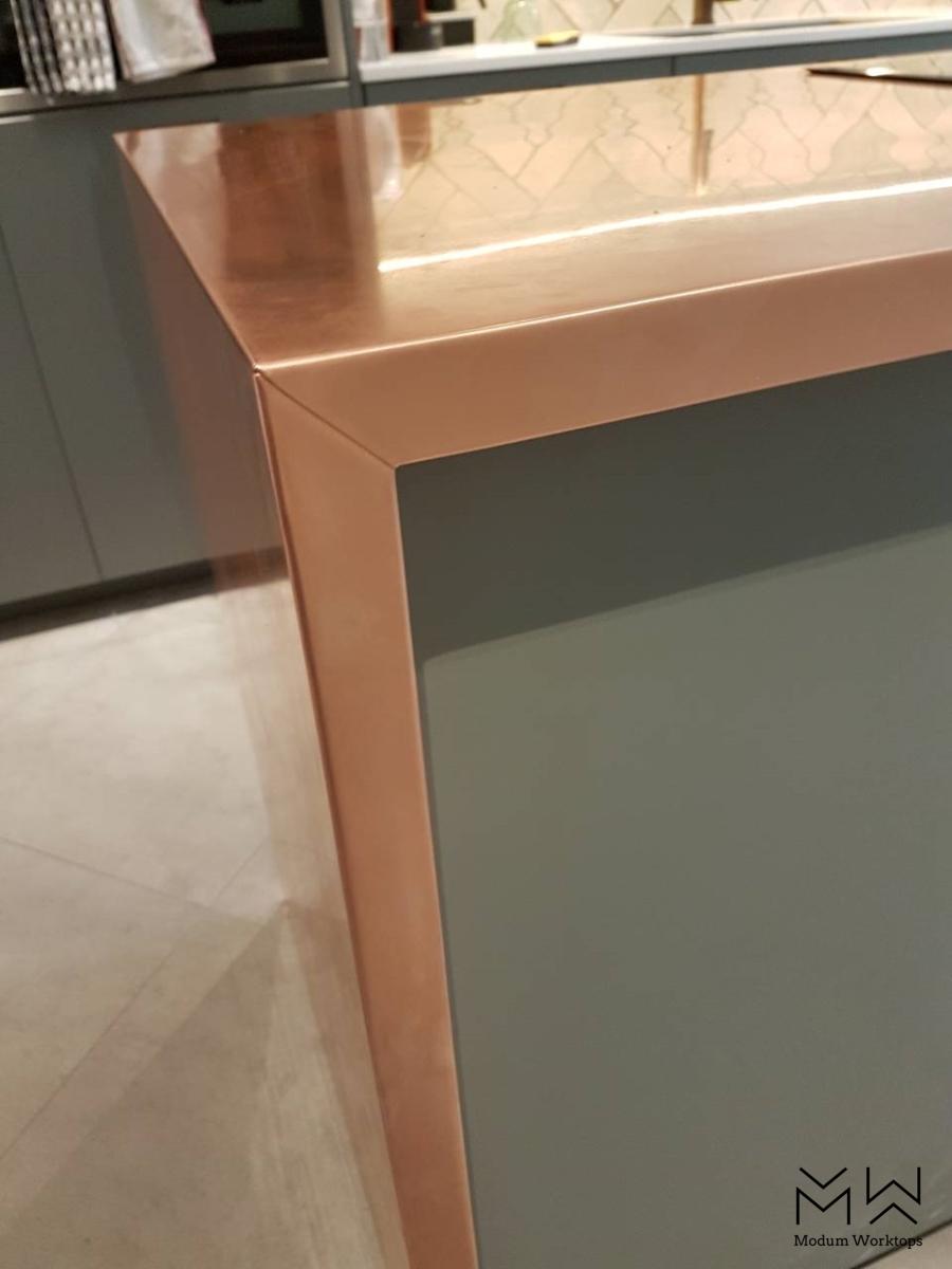 Folded copper