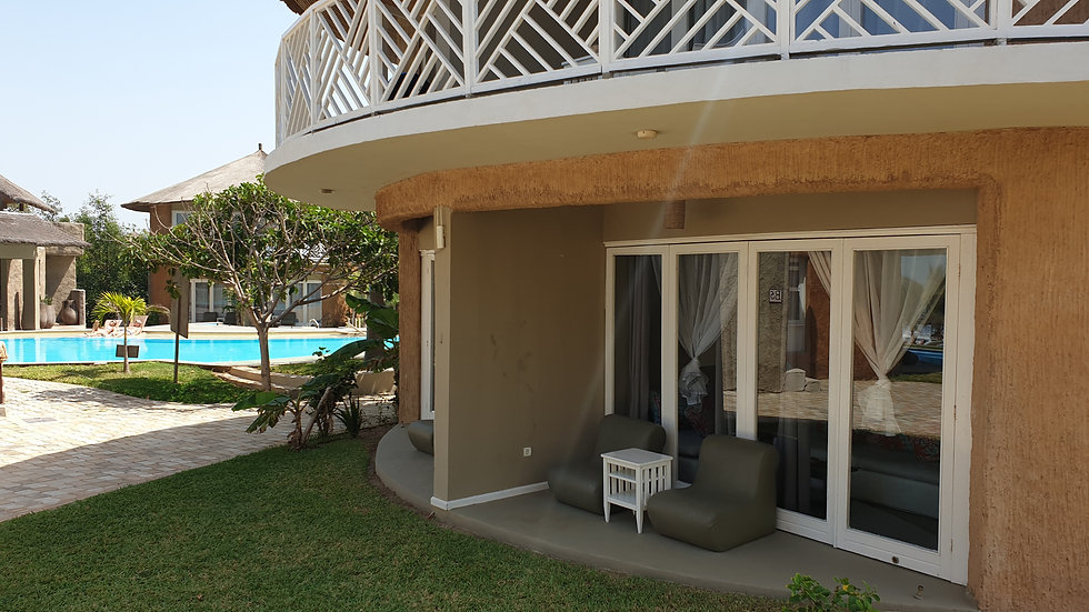 Deluxe Room Ocean View at Balafon Beach Resort Per Week