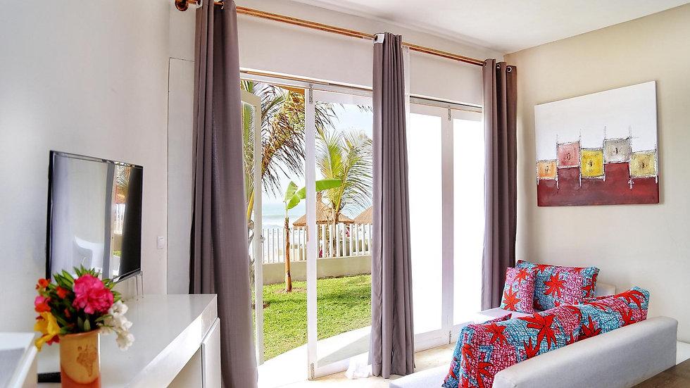 Deluxe Room Garden View at Balafon Beach Resort Per Week