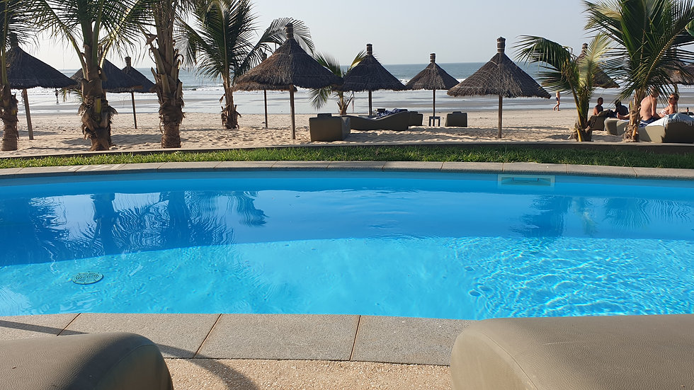 Ocean View Room With Swim Up Pool at Balafon Beach  Resort Per Month