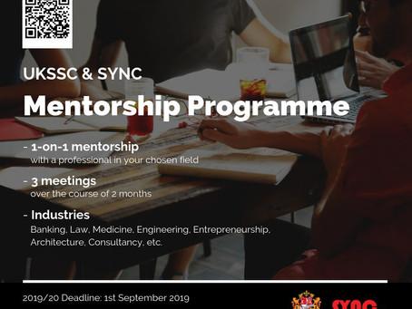 UKSSC X SYNC Mentorship Programme