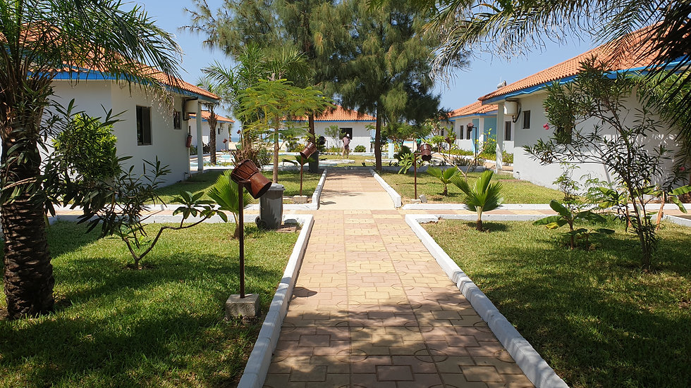Two Bedroom Villa For Rent at Djembe Beach Resort Per Month