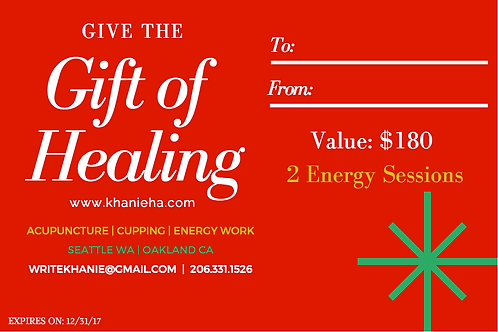 Energy Healing - 2 Sessions
