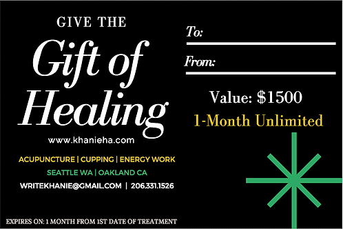 1 Month Unlimited Treatments Membership - Oakland Only
