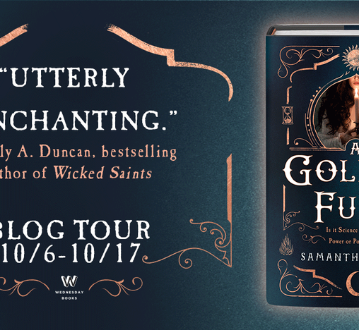Book Review: A Golden Fury (Blog Tour)