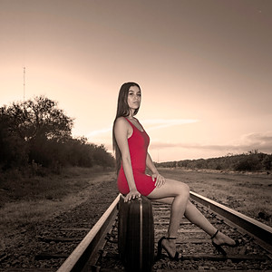 Karissa Railroad Session