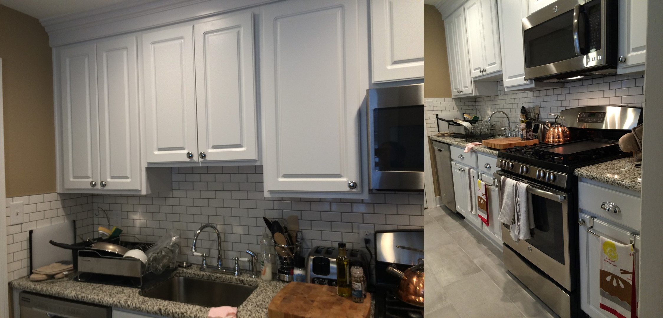 Historic Row Home Kitchen Remodel
